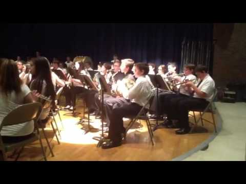 Nesaquake Middle School - May 12, 2014 - 7th Grade Band