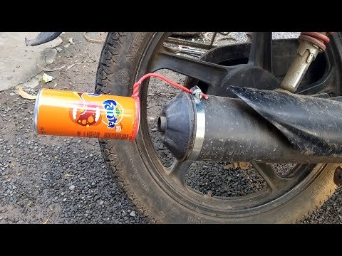 How To Make KTM Duke Exhaust Silencer Sound For Any Normal Bike