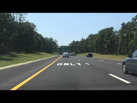 Garden State Parkway Exits 36 To 25 Southbound