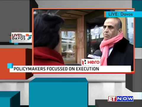 Exclusive | Sunil Bharti Mittal To ET NOW From World Economic Forum At Davos