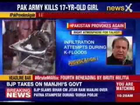 Pakistan's Army Kills 17 Years Old Girl video