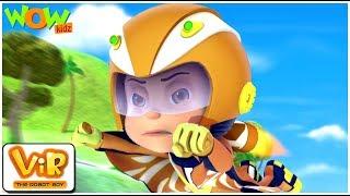 Vir: The Robot Boy - Vir vs Dangerous seven part 2- As Seen On HungamaTV - IN ENGLISH