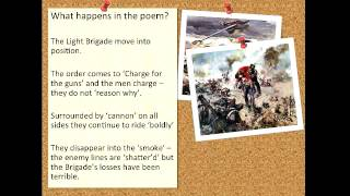 charge of the light brigade essay questions