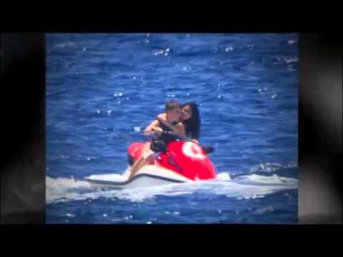 Selena Gomez Bikini Hawaiian Jet Ski Stunt Riding with Justin Bieber thumbnail