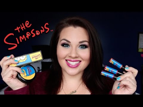 MAC x The Simpsons Collection Review & Swatches