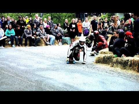 Surviving Danger Bay 11 Longboard Race - Landyachtz Longboards