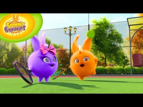 Cartoons for Children | Sunny Bunnies 117 - How to play tennis (HD - Full Episode)