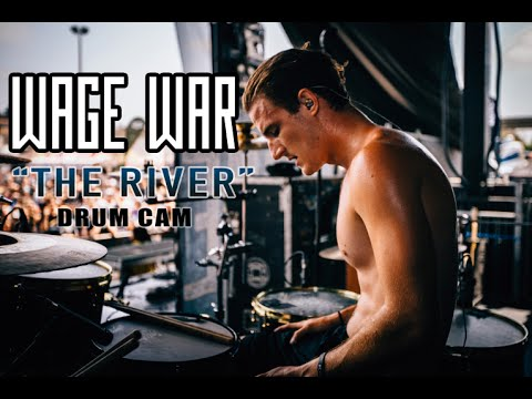 Wage War | The River | Drum Cam (LIVE) thumbnail