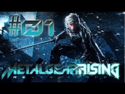 Let's Play METAL GEAR RISING: REVENGEANCE #001 - Metal Gear Ray- [Deutsch] [HD] [blind]