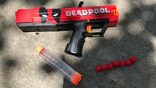(Review) Nerf Rival Deadpool Apollo Review and Firing
