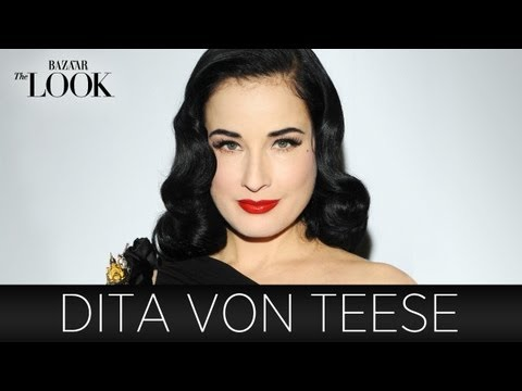 Dita Von Teese on DIY Beauty, Show Biz & Timeless Fashion | Harper's Bazaar The Look S2.E11