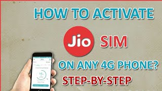 How to register your JIO 4G sim