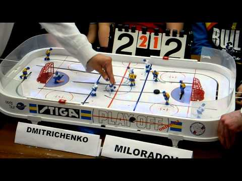 Table Hockey. Moscow Open 2013. Dmitrichenko-Miloradov. Game 4. Overtime
