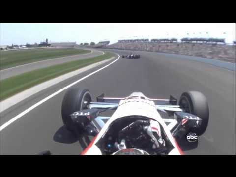 2012 Indy 500 Mike Conway and Will Power Crash
