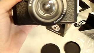 Holga 120 CFN accessories