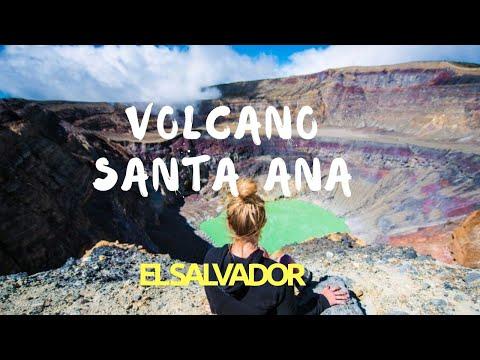 Climbing a volcano in El Salvador   Santa Ana Volcano