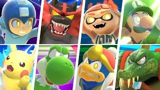 Super Smash Bros Ultimate - All Final Smashes