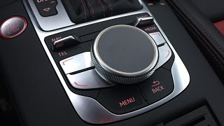 2015 Audi A3/S3 MMI Touch Control Overview