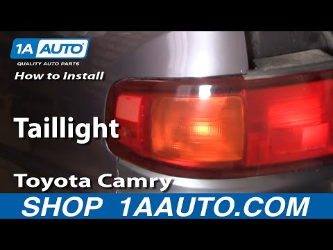 How To Install Replace Taillight Toyota Camry 95-96 1AAuto.com