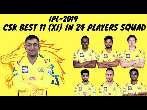CSK BEST 11 (XI) | 2019 VIVO IPL PLAYER AUCTION - CHENNAI SUPER KINGS|
