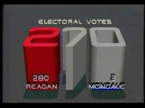 CBS Election Night 1984