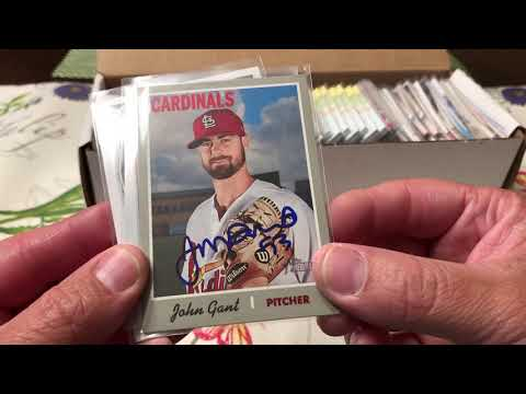 Spring Training 2019 IP Cardinals cards Autographs Part 1 of 2