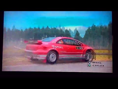 WRC 2017. WRC 04 PS2. RALLY DE FINLANDIA. SS2 MOKSI. M.GR: 4'06''64 . TT: 8'41''65