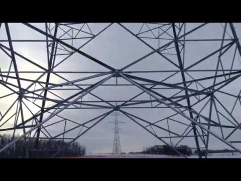Alberta Transmission Towers near Gibbon
