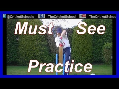 Cricket Practice Hd Video On Back Lift video