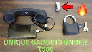 Unique Gadgets Under Rs500   Part 2   Tech Unboxing 🔥