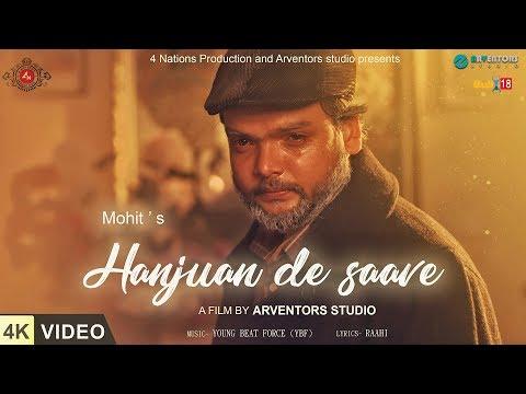 Hanjuan De Saave ft.Mohit | 4K Video | New Punjabi Songs | 4 Nations Production thumbnail