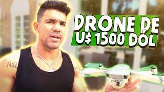 SUBINDO MEU DRONE DE 1500 DÓL    VLOG 136
