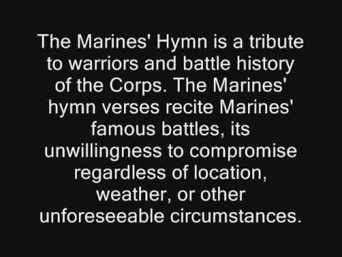 The Marines Hymn Video