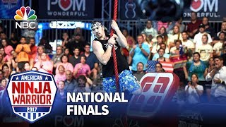 Nick Hanson at the Las Vegas National Finals: Stage 1 - American Ninja Warrior 2017
