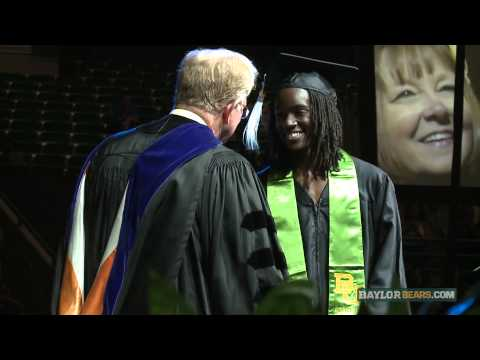 Baylor Athletics: 2013 Spring Commencement