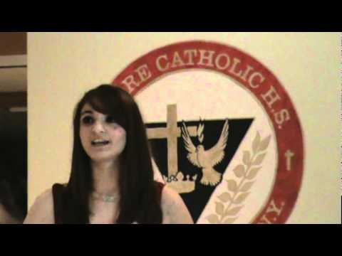 Moore Catholic High School Voice Finale - Lisa