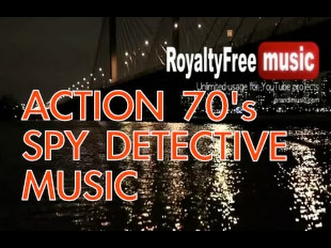 Action 70s Background Music  Royalty Free Music  Harlem Night