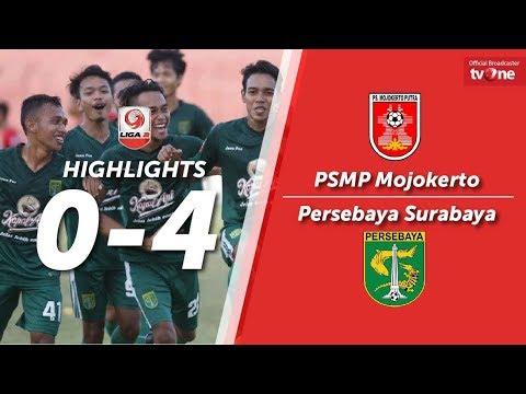 PSMP Mojokerto vs Persebaya Surabaya: 0-4 All Goals & Highlights Liga 2