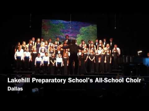 Lakehill Preparatory School's All-School Choir - 11/24/2011