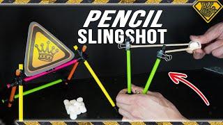 Compact Pencil Slingshot