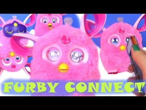 Видео для Детей. FURBY CONNECT Ферби Коннект. МОЙ НОВЫЙ ДРУГ- ФЕРБИ! Ферби на Русском. Ферби Конект