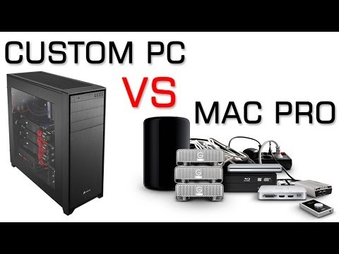 Mac Pro vs Custom PC | Benchmarks