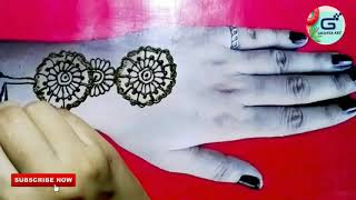 Full Back Hand Mehndi For Biggenners 2020 | New Stylish Henna