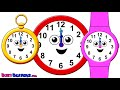 Imagen del vídeo What Time Is It? - Telling the Time Song for Children, Whats the Time? Kids English Nursery Songs