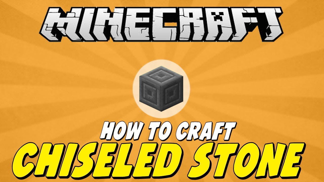 How To Craft Chiseled Stone Brick In Minecraft YouTube