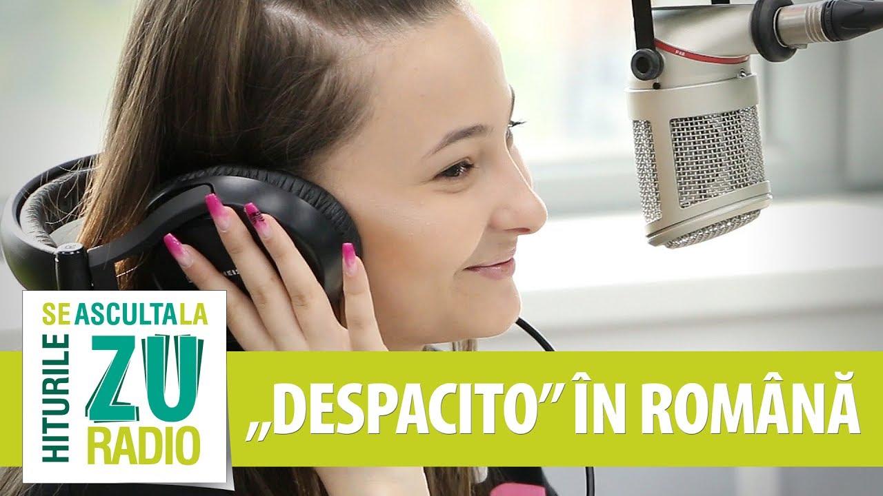 A rupt netul cantand Despacito romana. Asa suna coverul ei LIVE la Radio ZU (ft. Prestige Orchestra)