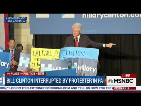 """Bill Clinton: """"Black Lives Matter"""" Protesters Are Defending Murders And Drug Dealers"""