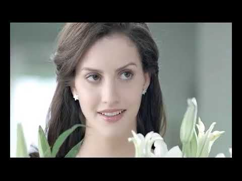 WhiteTone face powder 2012 new AD - Flowers