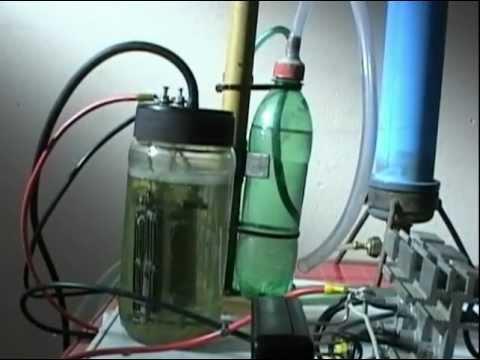 Pequeña celda de Hidrogeno Casera eficiente!!.- Small cell Homemade Hydrogen (super efficient)