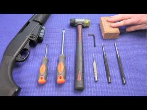 Remington 7615 - Disassembly